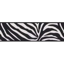 Kids World Zebra Crossing Zebra Wallpaper Border