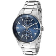 Men's Chronograph Round Watch