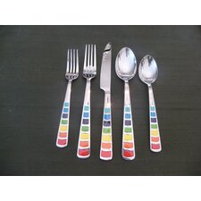 Masquerade 20 Piece Flatware Set
