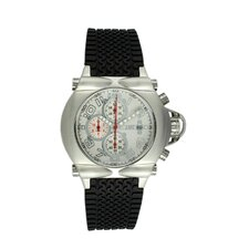 Rollbar Men's Watch with Silver Case and White Dial