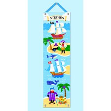 Pirates Personalized Growth Chart