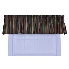 Montego Stripe Cotton Valance Window Curtain