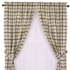 Large Scale Plaid Window Treatment Collection