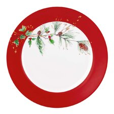 Winter Song Dinner Plate