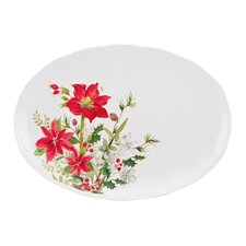 Winter Meadow Oval Platter