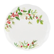 Winter Meadow Holly Dinner Plate
