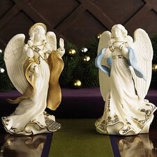 First Blessing Nativity 2-Piece Angels Set
