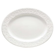Opal Innocence Carved Oval Platter
