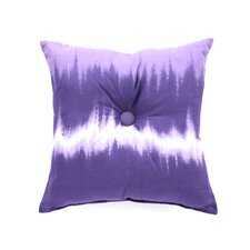 Tie Dye Cotton Blend Square Pillow