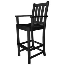 Traditional Garden Bar Arm Chair