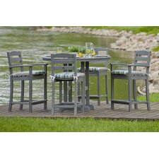 La Casa Cafe 5 Piece Counter Set with Cushions