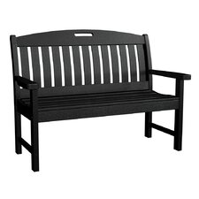Nautical Plastic Garden Bench