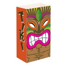 Tiki Flame Resistant Luminaria Bags (Set of 12)