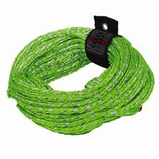Bling 2 Rider 60' Green Tube Tow Rope