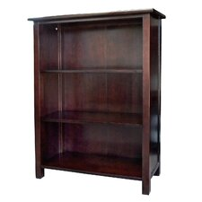 Austin Bookcase with 3 Shelves in Dark Birch