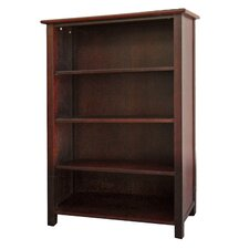 Austin Bookcase with Four Shelves in Dark Birch