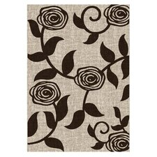 Lexington Champaign Flower / Vine Rug