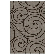 Lexington Fume Vine Swirl Rug
