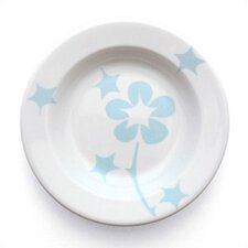 Blue Flora Rim Bowl (Set of 4)