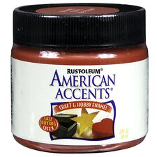 American Accents® Apple Red Craft and Hobby Brush Enamel Paint