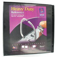 "2"" EZ View Heavy Duty Reference Binder in Black"