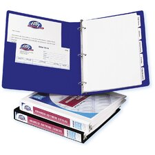 "0.5"" Durable Reference View Binder in White"
