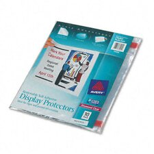 Top-Load Display Sheet Protectors, 10/Pack