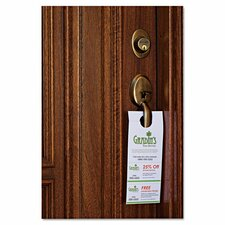 Door Hanger with Tear Away Card