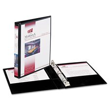 ".5"" Durable Vinyl Round Ring View Binder"