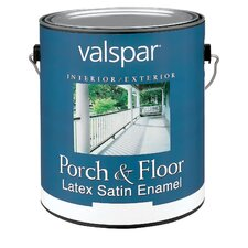 1 Gallon Dark Green Porch & Floor Latex Satin Enamel 27-1521 GL