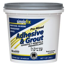 Pre-Mixed Adhesive and Grout