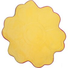 Carnaval Yellow Kids Rug