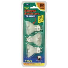 Halogen Reflector Bulb (Pack of 3)
