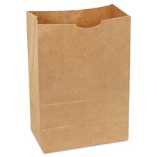 "8.25"" Kraft Paper Bag in Brown"
