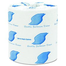 Standard 2-Ply Bathroom Tissue in White