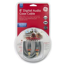 6' Ultra Pro Digital Audio Coax Cable