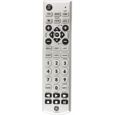 4 Device Universal Big Button Remote Control