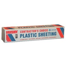 20' X 100' 6 ML Polyethylene Clear Plastic Sheeting CF0620C