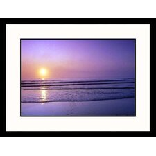 Cape Cod Sunrise Framed Photograph - Steve Dunwell