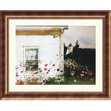 Around the Corner Bronze Framed Print - Andrew Wyeth