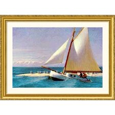 Martha Mckeen of Wellfleet Gold Framed Print - Edward Hopper