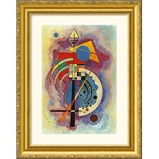 Homage to Grohmann Gold Framed Photograph - Wassily Kandinsky