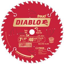 "7-1/4"" 40T Diablo™ Finish Work Circular Saw Blade"