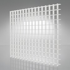 Egg Crate White Suspended Light Ceiling Panel
