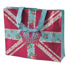 Bright Union Jack Plasticised Shopping Bag