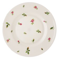 "New Country Roses White Casual 8.2"" Salad Plate"