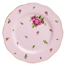 "New Country Roses Formal Vintage 8.5"" Salad Plate"