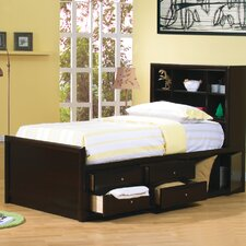 Applewood Chest Bed in Rich Deep Cappuccino