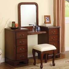 "Louis Phillipe 54"" Vanity Set"