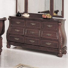 Sierra 9 Drawer Dresser